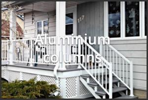Aluminium columns
