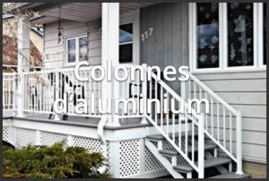 Colonnes - Rampes aluminium Mirabel