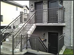 Aluminium railings - excel