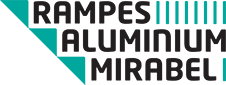Rampes aluminium Mirabel Logo