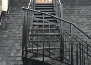 Escalier soudée noire